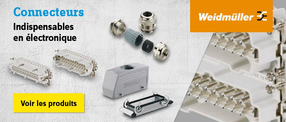 Weidmüller - Kits connecteurs RockStar