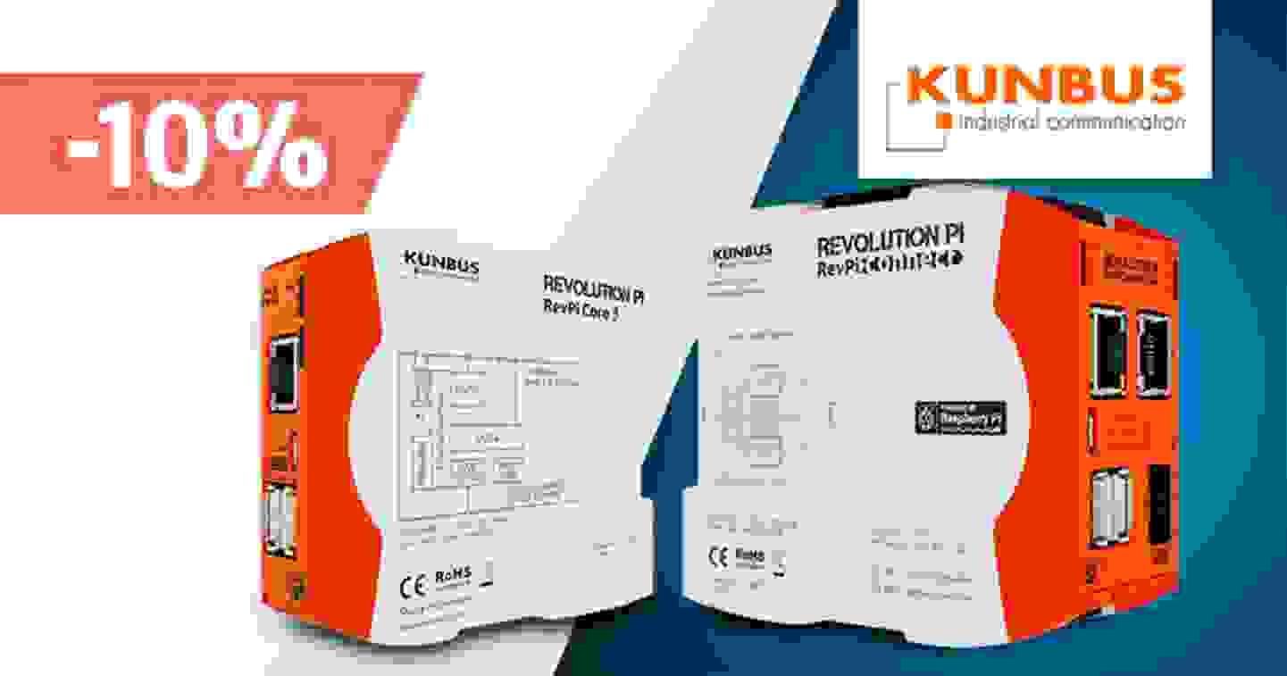 Kunbus - Promotion de 10% sur une sélection de produits