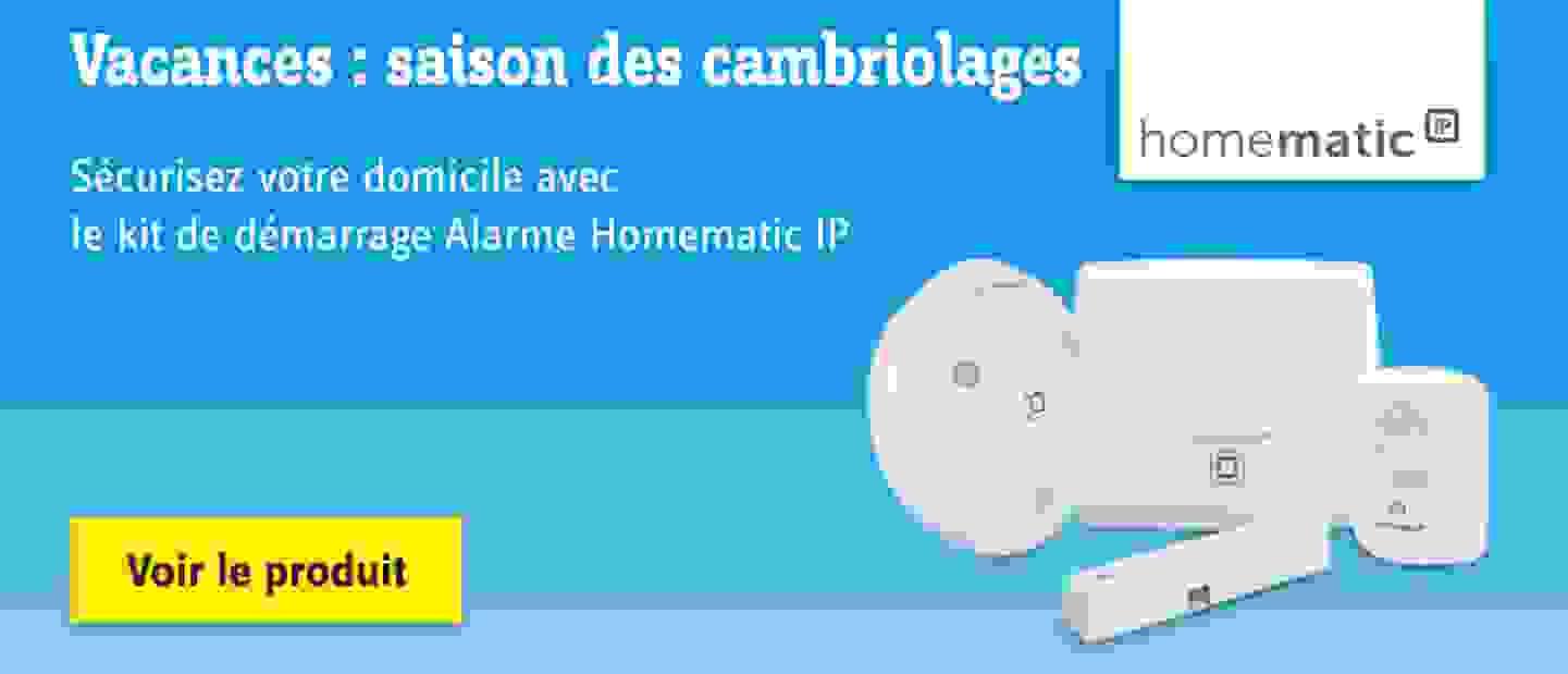 Homematic - IP Kit de démarrage alarme HmIP-SK7