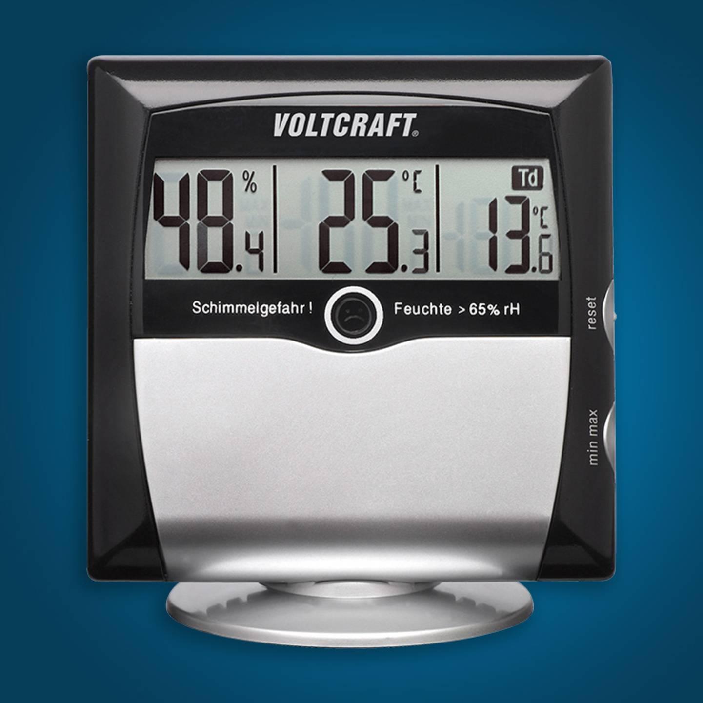 Voltcraft - MS-10 Mesureur d'humidité de l'air (hygromètre) »