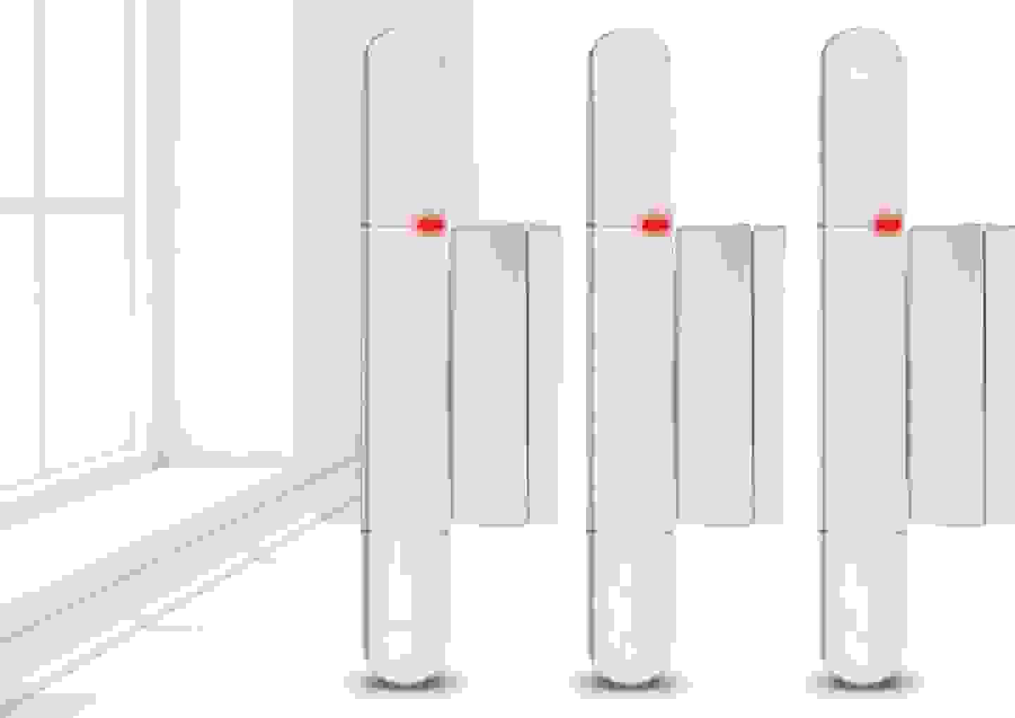 Olympia - lot de 3 contacts sans fil pour portes et fenêtre