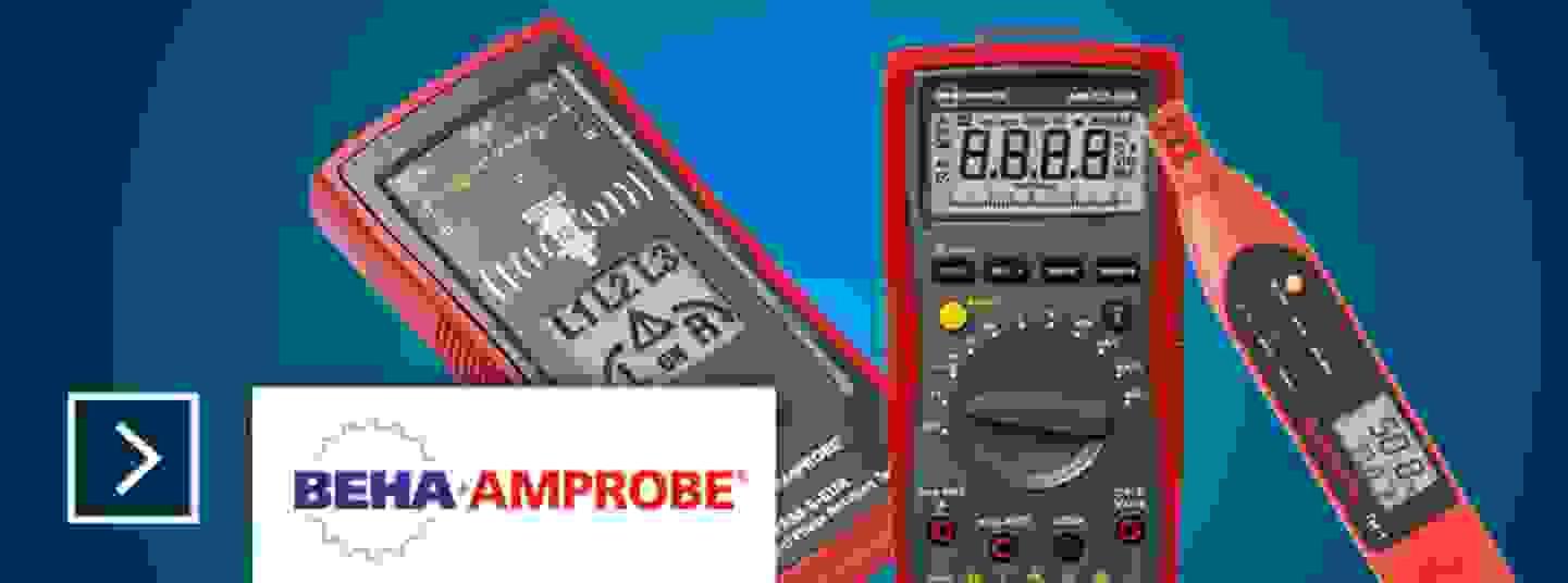 Tous les appareils de mesure Beha Amprobe