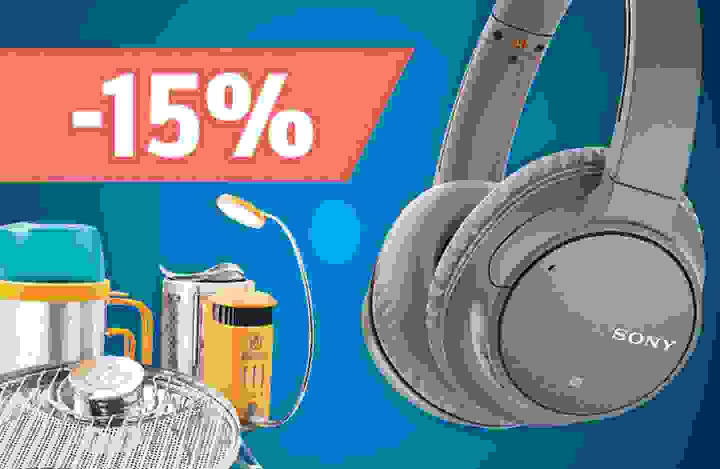 Remise sur gamme:  15% de remise sur tous les casques audio et toute la gamme Camping & Outdoor - En profiter »