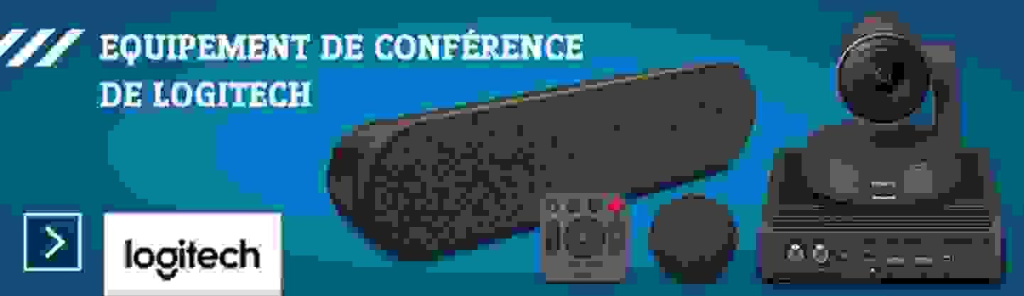 Equipement de conférence de Logitech