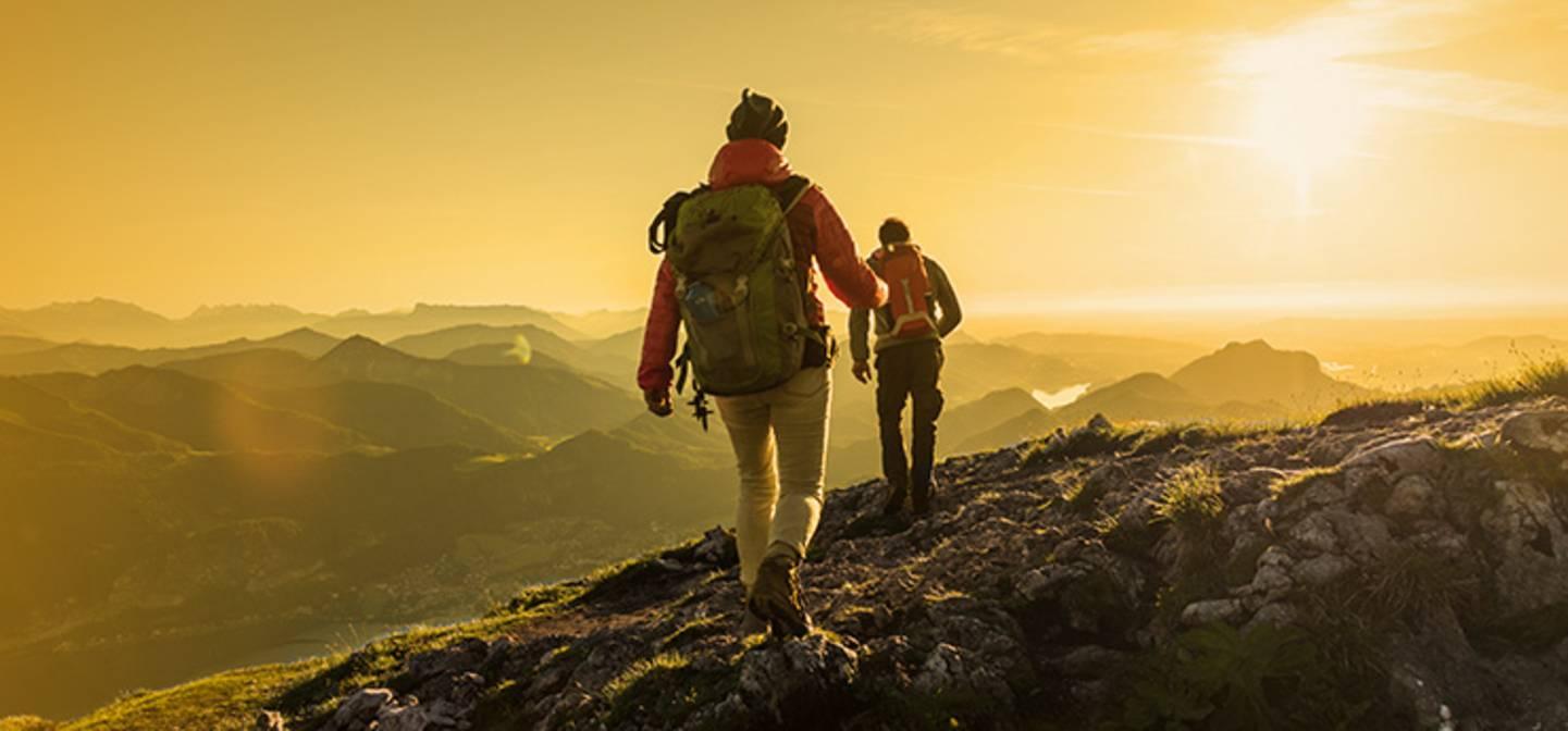 L'automne, c'est faire de la randonnée à des températures optimales