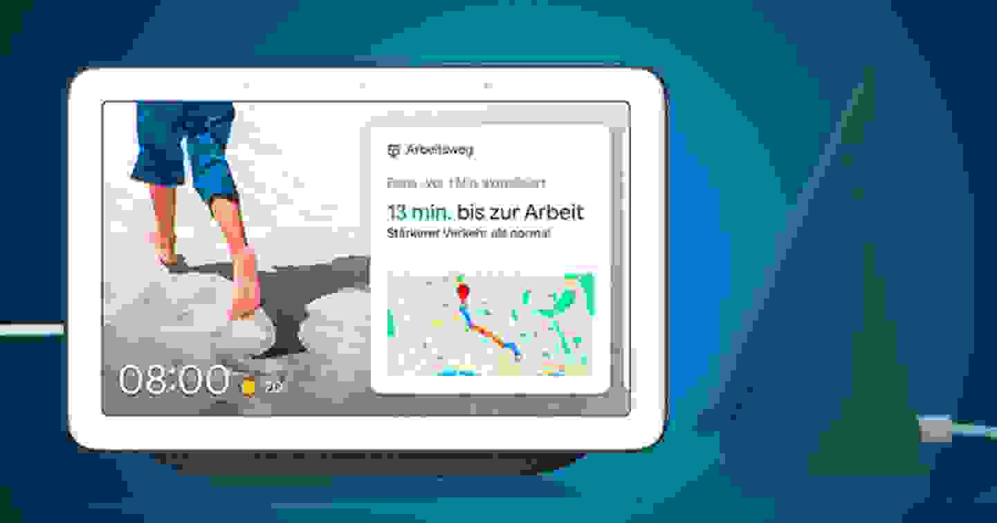 Google - Assistant vocal Nest Hub - Découvrir maintenant les produits »