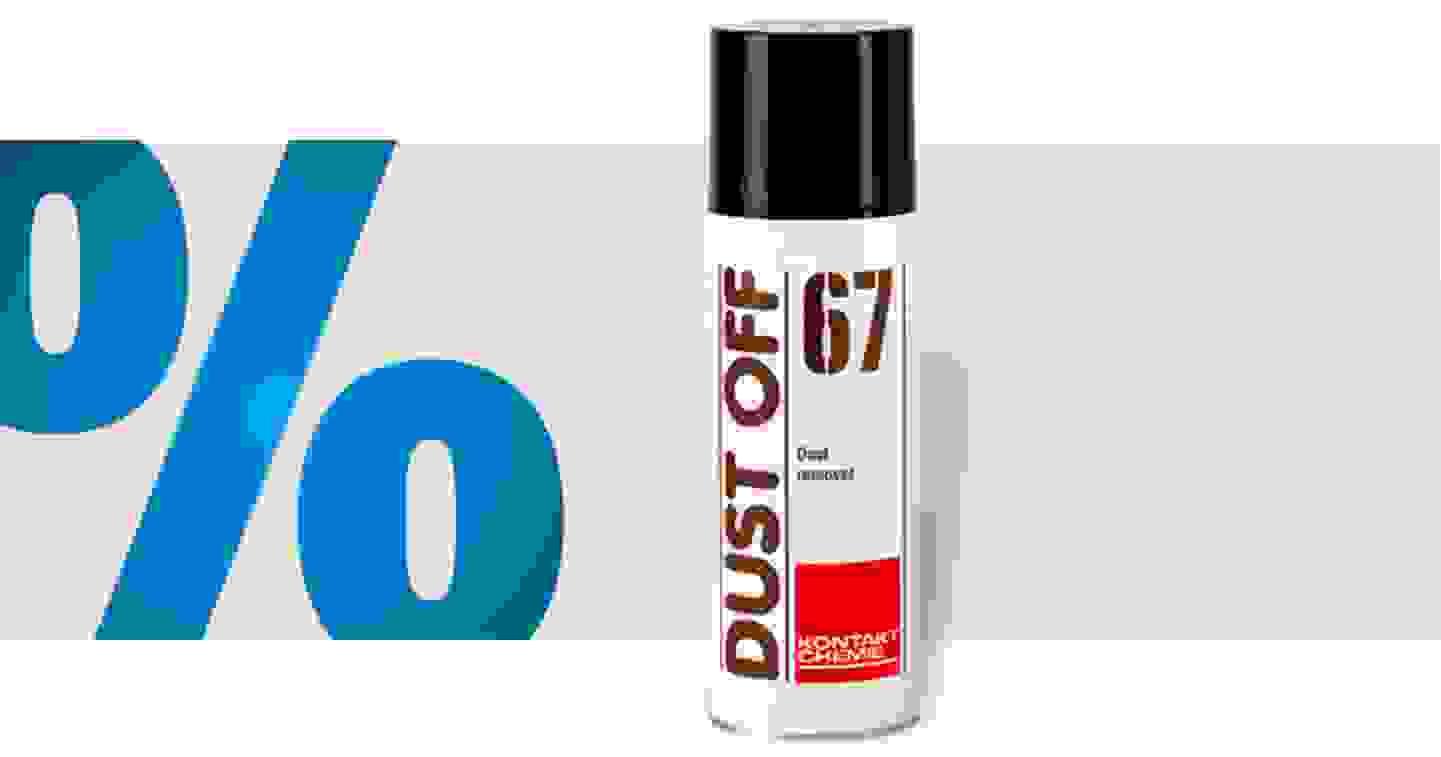 Kontakt Chemie - 33167-AA DUST OFF 67- Aérosol dépoussiérant non inflammable 400 ml »