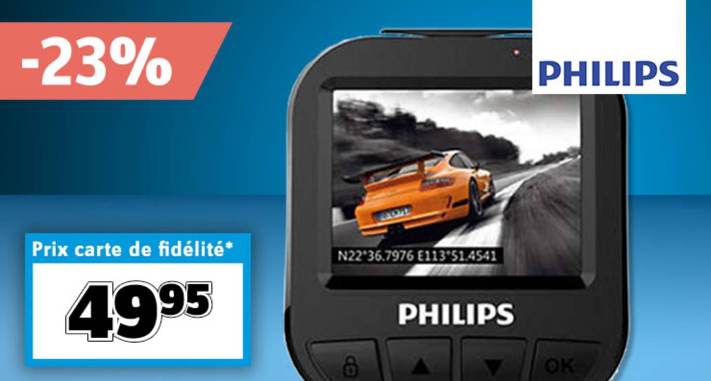 Philips ADR620 Caméra embarquée à vision horizontale »