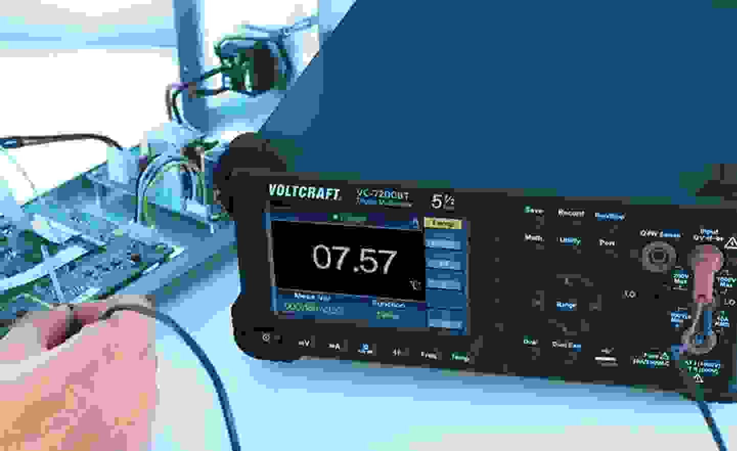 Voltcraft - Multimètres de table »