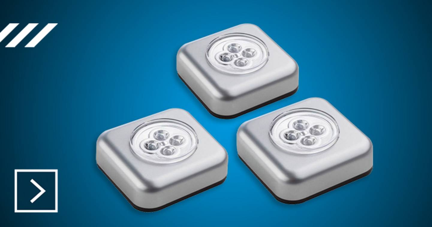 Müller Licht - Lot de 3 lampes LED portatives »