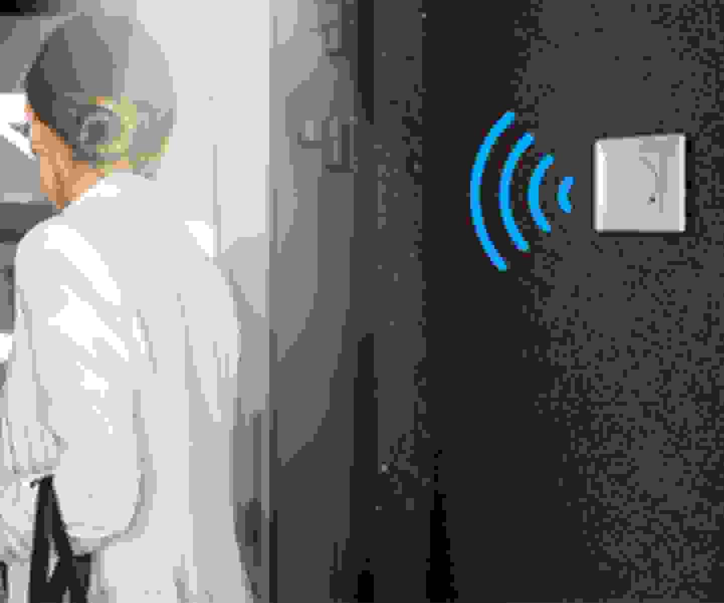 Renkforce - détecteur de mouvement HF encastré 180° »