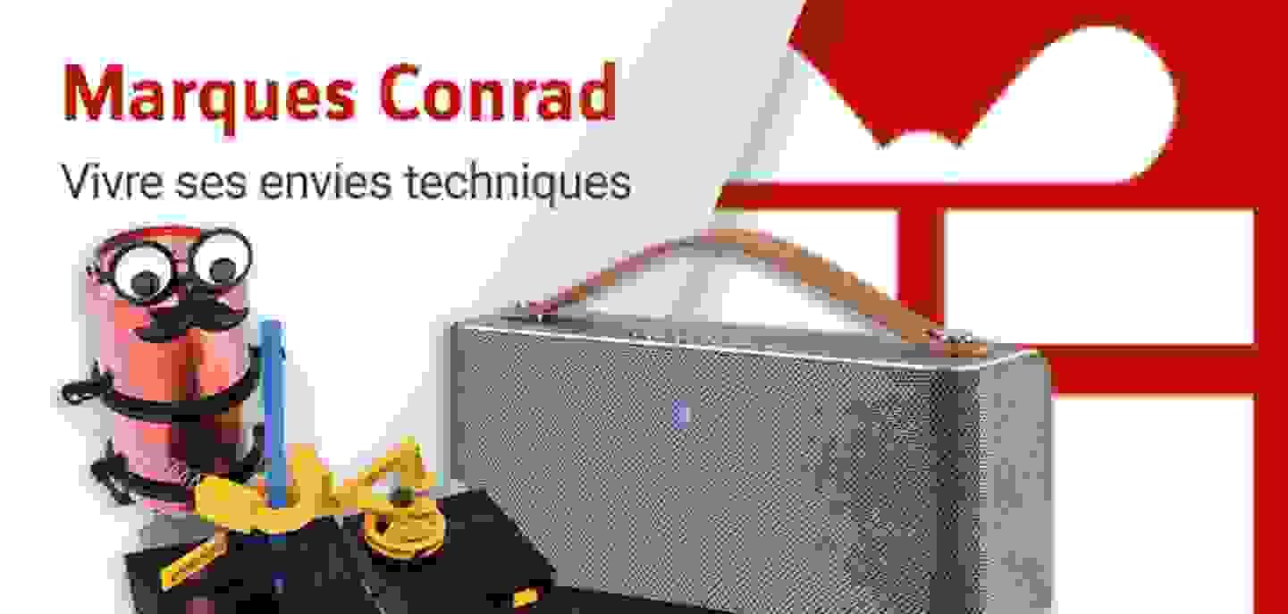Marques fortes Conrad - Découvrir »