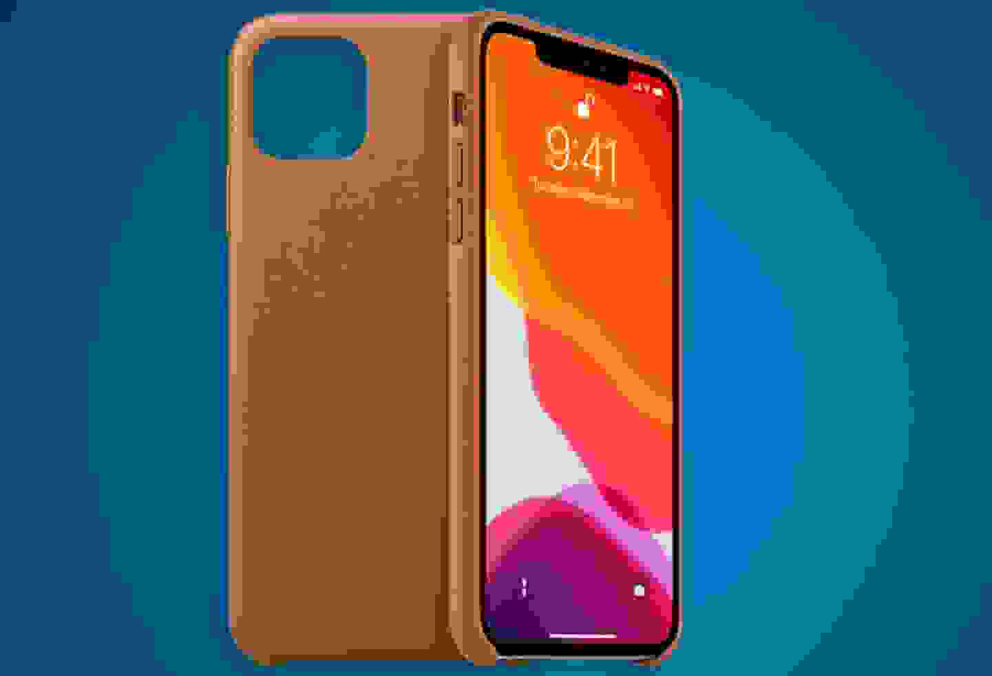 Apple - Coque en cuir Apple iPhone 11 Pro Max »