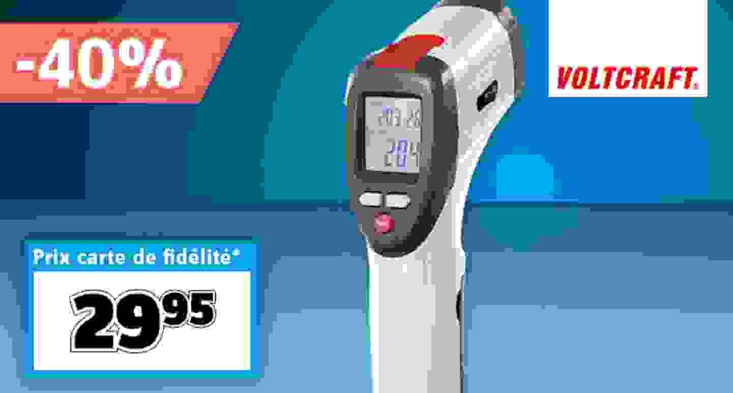 VOLTCRAFT - Thermomètre infrarouge, optique 10:1 »