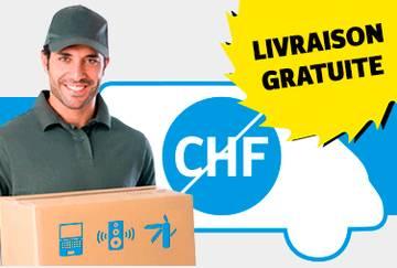 Livraison à domicile gratuite pour les produits non disponibles