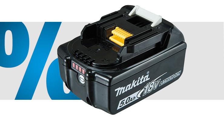 Makita - Batterie d'outil 18 V 5 Ah Li-Ion