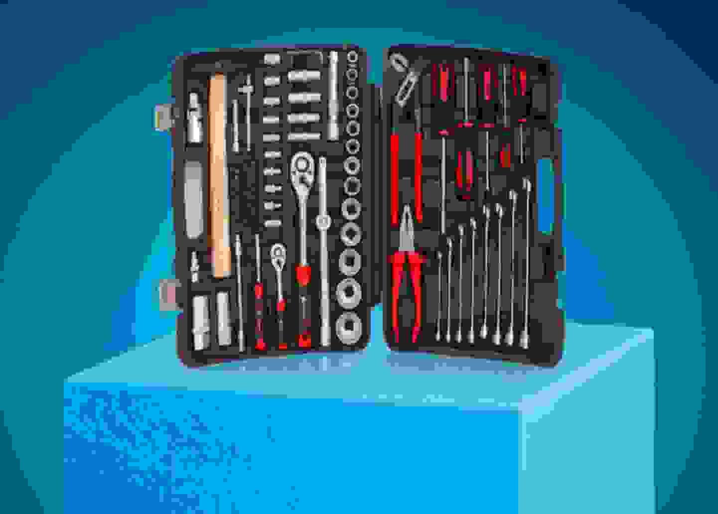 Toolcraft - Mallette à outils »