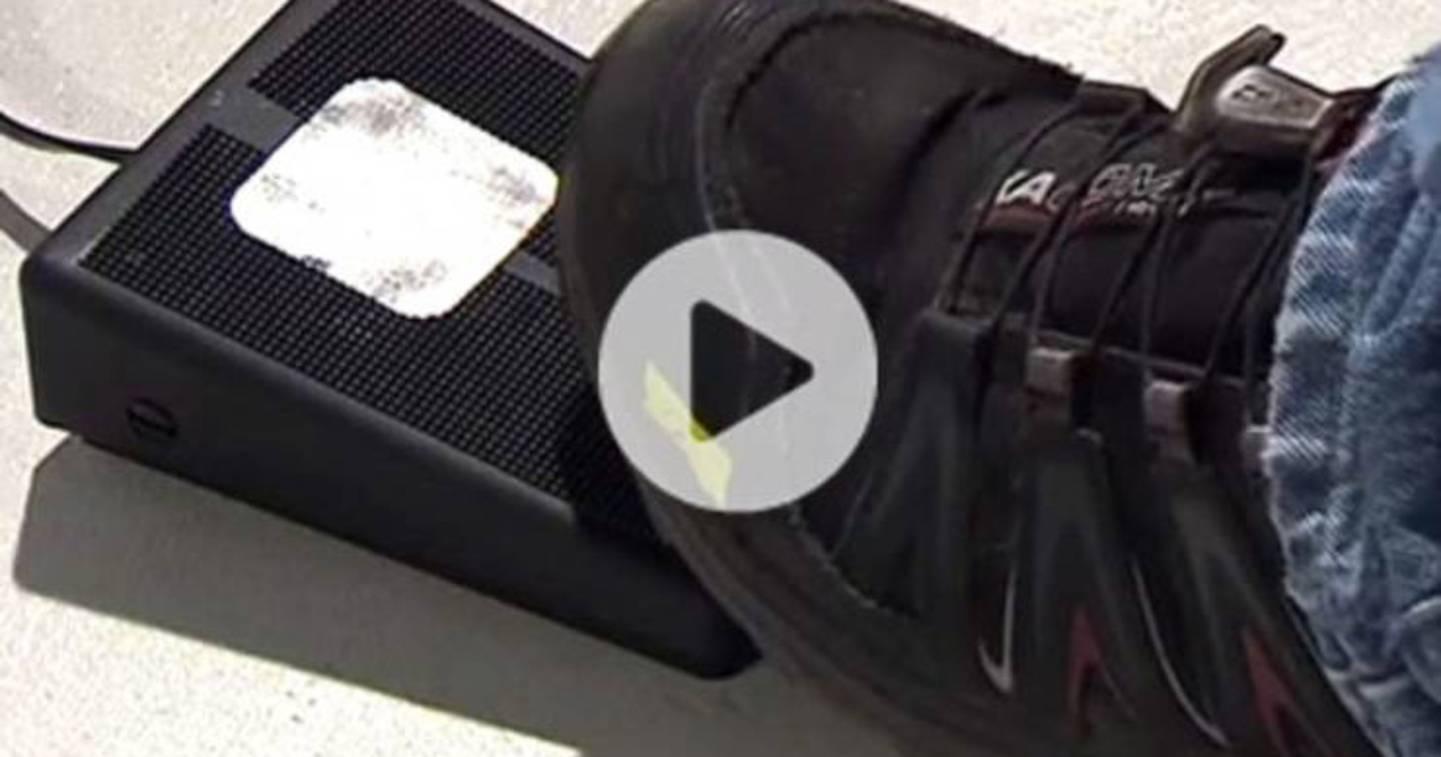 Interrupteur à pédale - Vidéo »