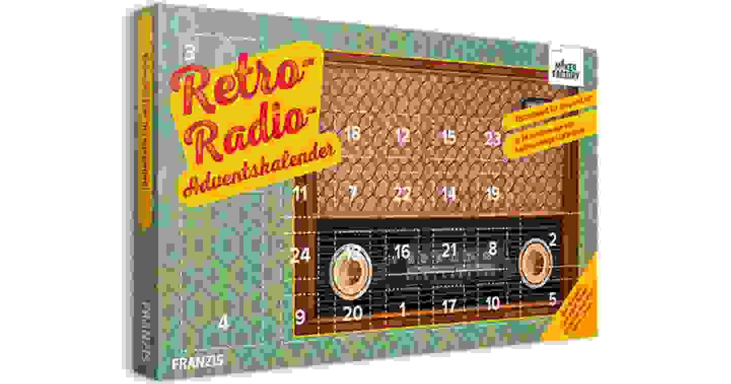 Makerfactory - Calendrier de l'Avent Radio rétro