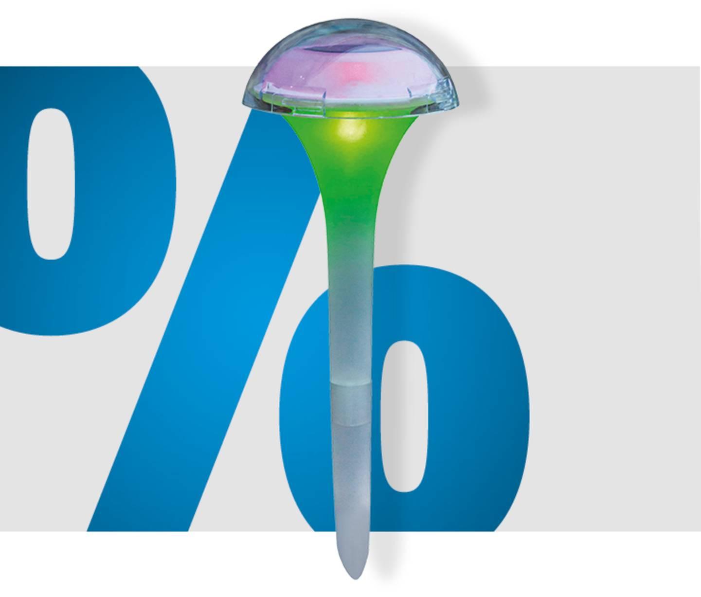 Voir le produit - Lampe de jardin solaire »