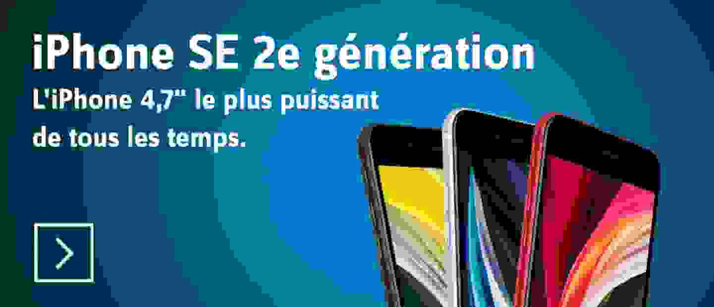 iPhone SE (2. Generation) - Découvrir »