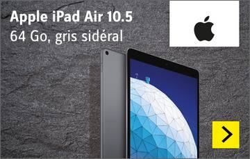 Apple iPad Air 10.5 WiFi 64 Go gris sidéral