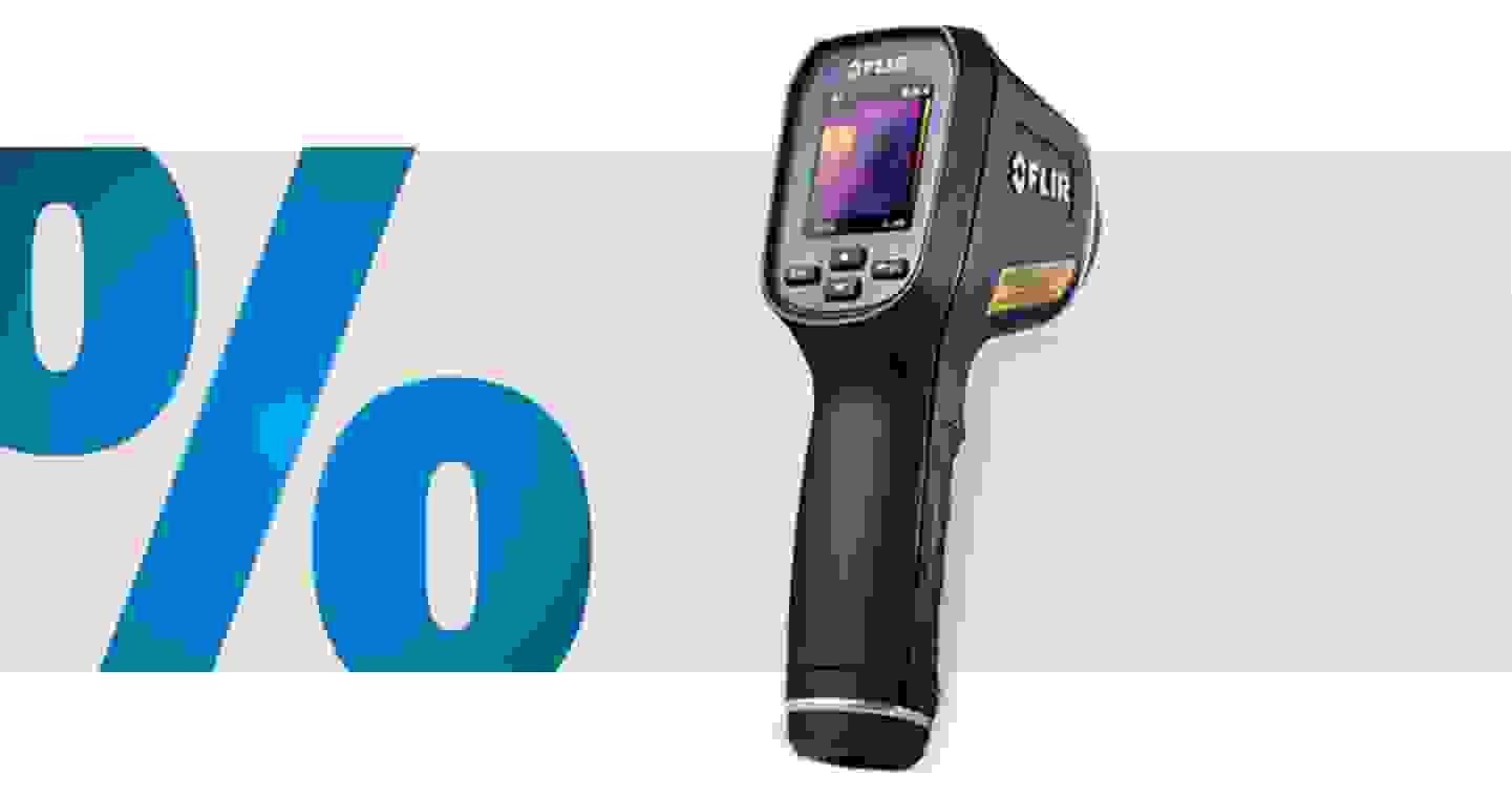 FLIR - TG165 - Thermomètre infrarouge, pyromètre - Optique 24:1, -25 à +380 °C »