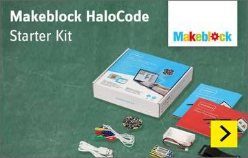 Elektrobaukästen, Elektronikbaukästen Makeblock HaloCode Starter Kit