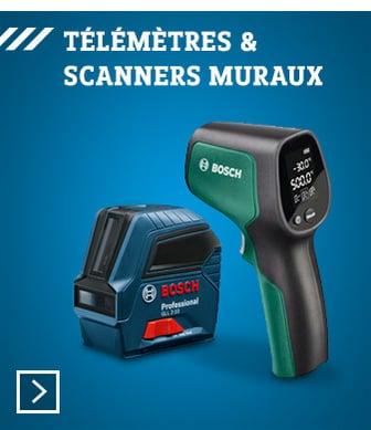 Bosch - Télémètres & scanners muraux