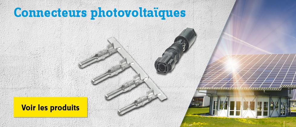Connecteur photovoltaïque »