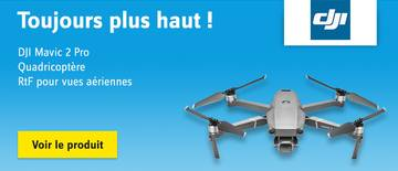 dji - Mavic 2 Pro - Quadricoptère RtF pour vues aériennes