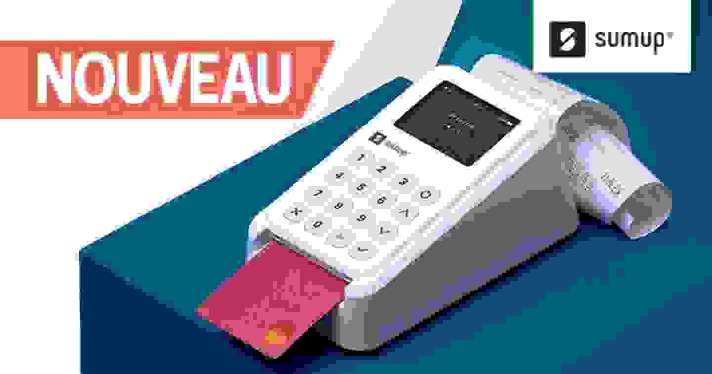 SumUp kit de paiement 3G+. 1 kit. Tout ce dont vous avez besoin. Découvrir »