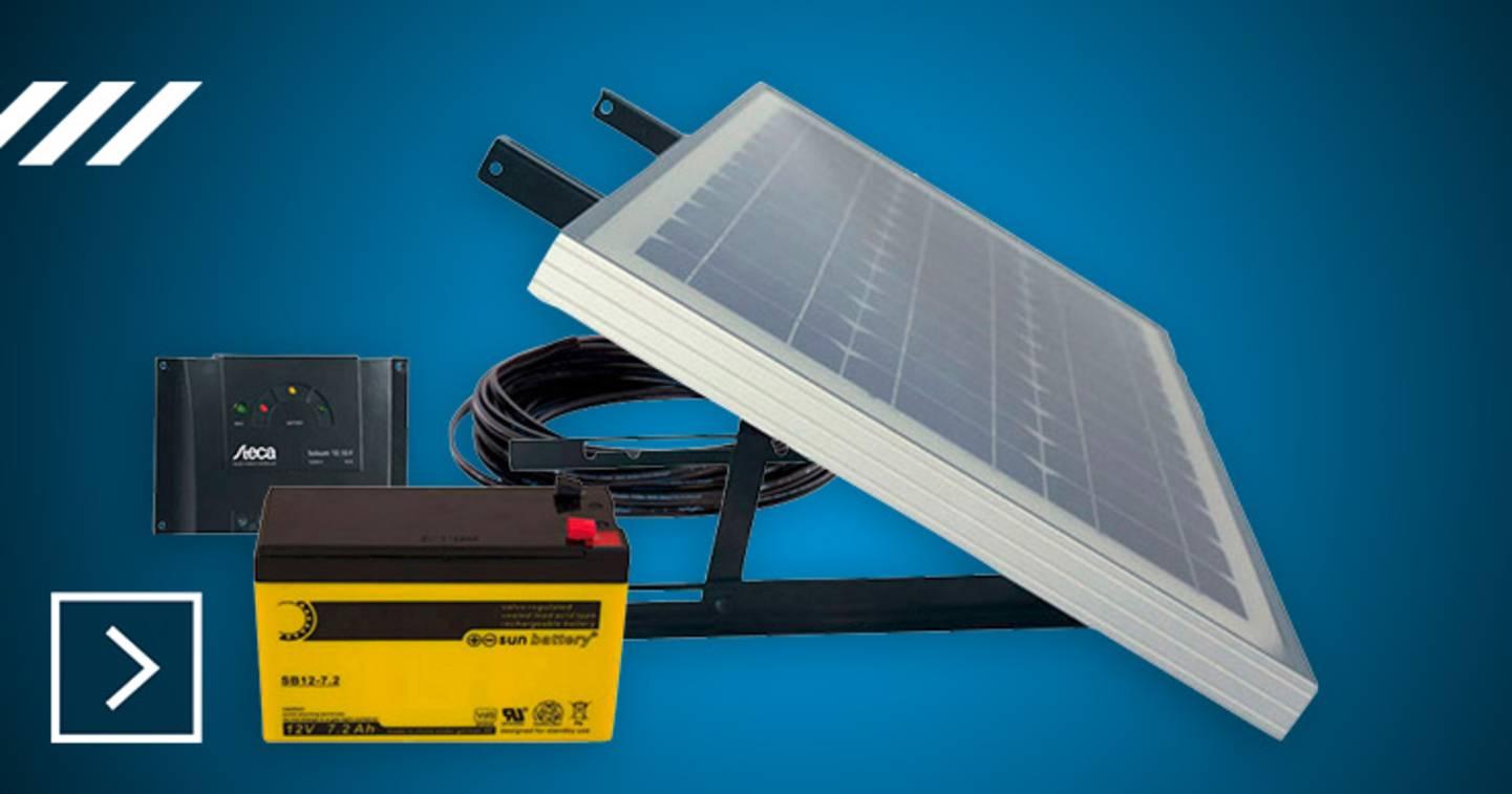 Phaesun - Kit solaire - Energy Generation Kit Solar Rise Nine 1.0 »