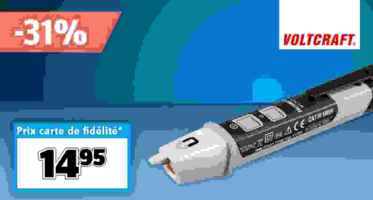 VOLTCRAFT MS-540 | Détecteur de tension sans contact »