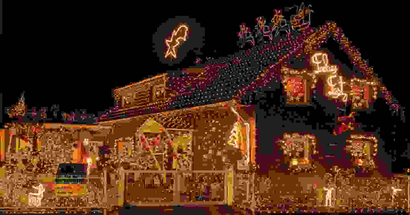 Illuminations de Noël pour l'extérieur