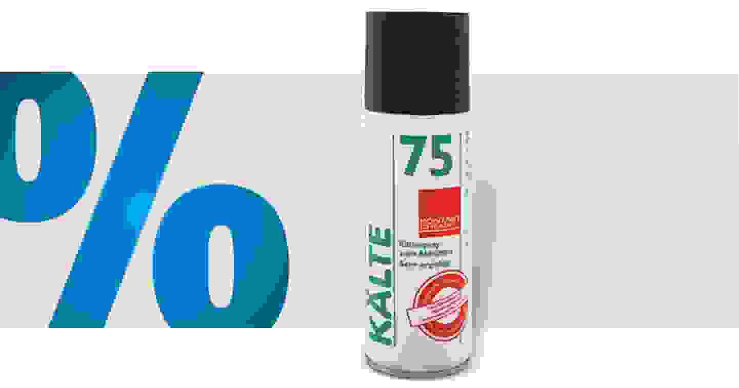 Kontakt Chemie KÄLTE 75 33169-CH - Aérosol réfrigérant non inflammable 400 ml »