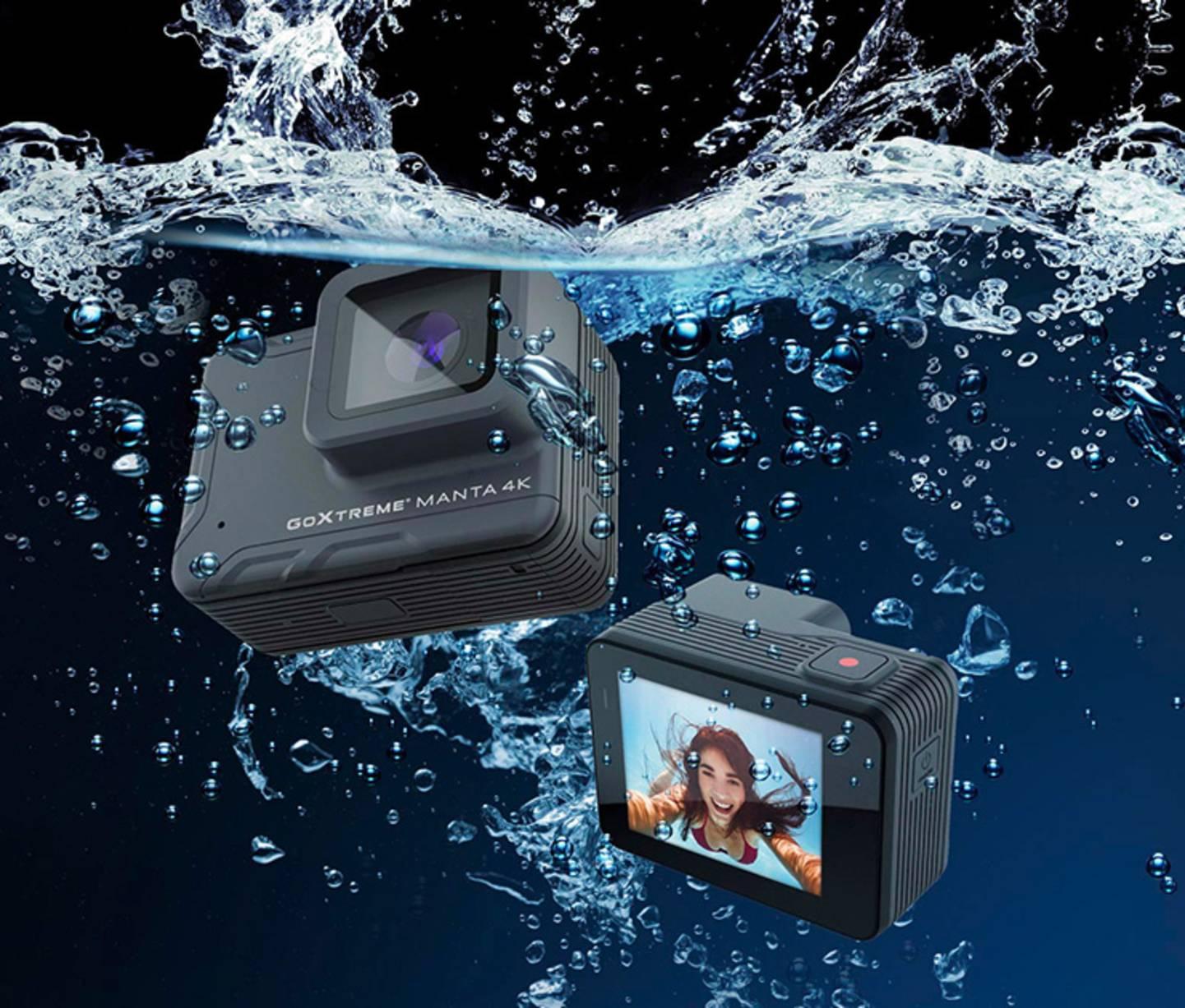 GoXtreme - Manta 4K Action Cam, Ultra HD, Full-HD »