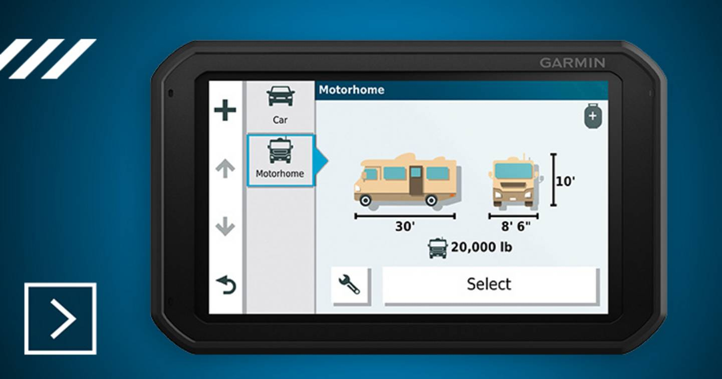 Garmin - GPS pour caming-car Europe »