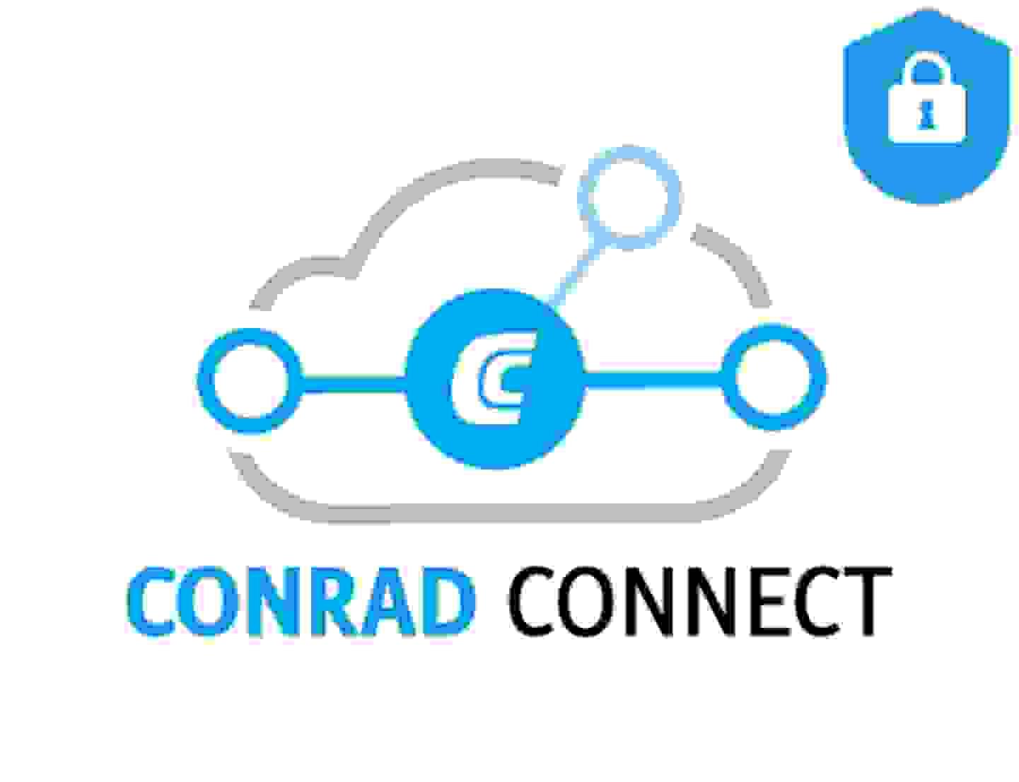 Vos données sont sécurisées avec Conrad Connect