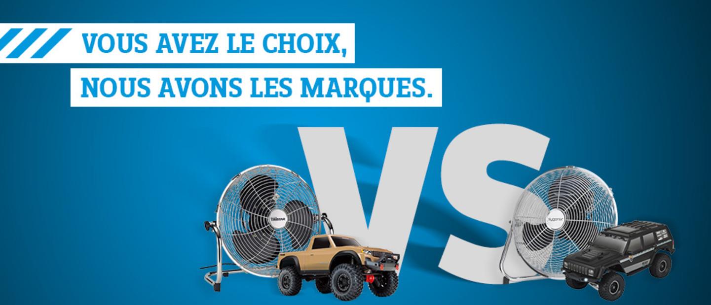 Vous avez le choix »