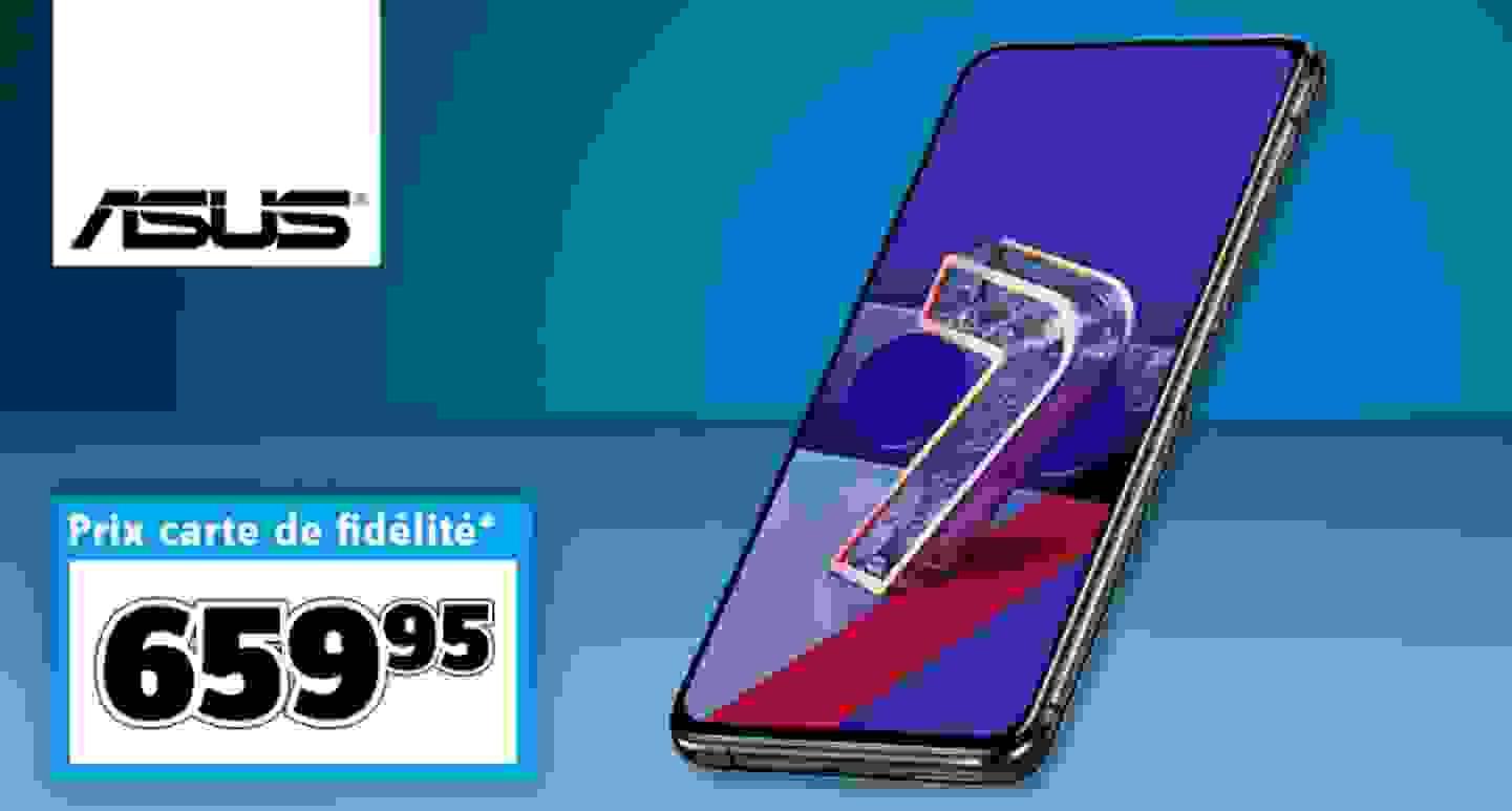 """Asus - Smartphone ZenFone 7, double SIM, 128 Go 6.67"""""""