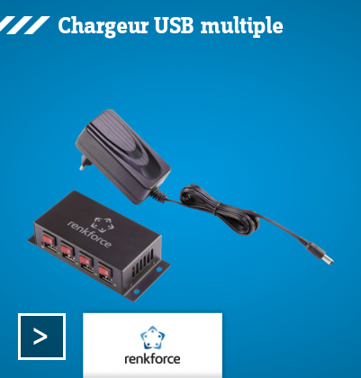 Renkforce - Chargeur USB
