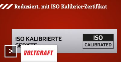 VOLTCRAFT ISO Sale